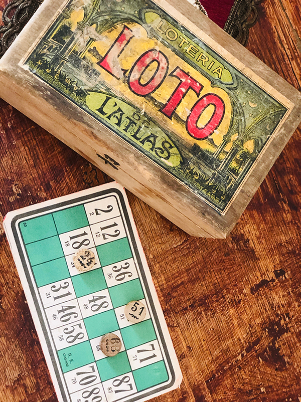 Old lotto game